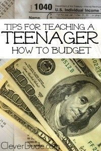 Teaching Your Teen Good Money Management